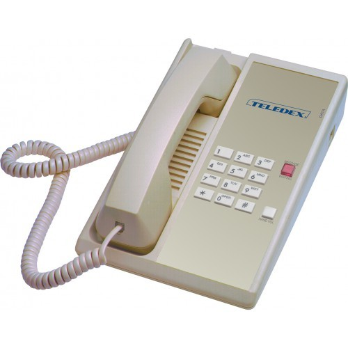 Teledex Diamond Hotel Hospitality Guestroom Telephone Ash DIA65309