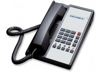 Teledex Diamond+5 Hotel Hospitality Telephone Black DIA651391