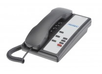 Teledex Nugget 3 Button Guestroom Telephone Black