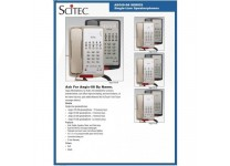 Scitec Aegis-10S-08 Single Line Speakerphone 10 Button Black 88102 Hotel