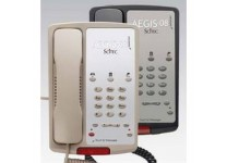 Scitec Aegis-3-08 Single Line Hotel Phone 3 Button Ash 80301