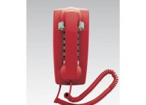 Scitec Aegis Single Line Emergency Wall Phone Red 25403